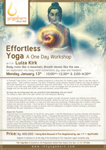Effortless Yoga Workshop