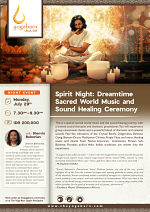 Dreamtime Sacred World Music and Sound Healing Ceremony with Shervin Boloorian