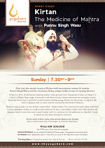 Kirtan The Medicine of Mantra with Punnu Singh Wasu