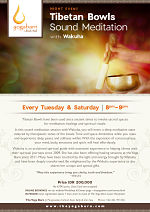 Tibetan Bowls Sound Meditation with Wakuha