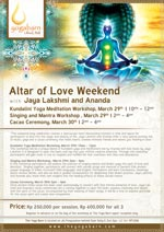 Altar of Love Weekend
