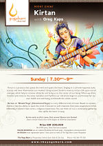 Kirtan with Greg Kaps