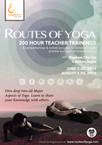 Routes of Yoga 200-Hour Teacher Training Programs with Daphne Charles and Anton Jager