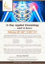 3-Day Applied Kinesiology with Adolf M Brown