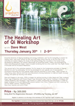 The Healing Art of Qi Workshop