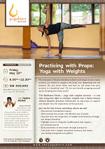 Practicing with Props: Yoga with Weights with Nadine McNeil