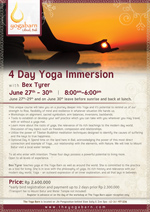 4 Day Yoga Immersion