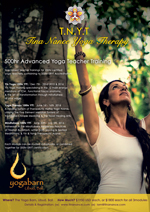 Tina Nance Yoga Therapy 500hr Advanced Yoga Teacher Training