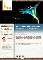 The Seeds Of True Self One Day Inner Healing Workshop with Wakuha