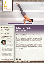 Intro to Flight: Inversion 101 with Paul Teodo
