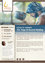Ocean of Oneness Yin Yoga & Sound Healing with Carlos Romero