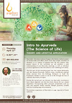 Intro to Ayurveda: Theory and Lifestyle Practice with DC Leiro (Shivananda)