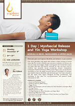 1 Day | Myofascial Release and Yin Yoga Workshop Module II: Neck, Shoulders & Upper Back with Eka Kailash