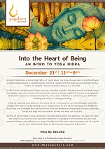 Into the Heart of Being: An Intro to Yoga Nidra