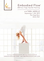 Embodied  Flow™ 200-Hour Teacher Training with Tara Judelle