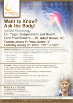 Applied Kinesiology Training