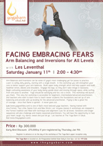 Facing Embracing Fear