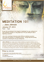 Meditation 101 Workshop