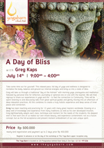 A Day of Bliss With Greg Kaps