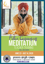 Active Consciousness Meditation, 100 & 200-Hour Teacher Training with Punnu Singh Wasu