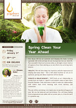 Spring Clean Your Year Ahead with Oksana Sokol