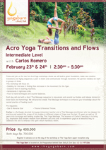 Acro Yoga Transitions and Flows with Carlos Romero