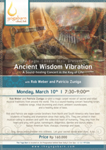 Ancient Wisdom Vibration