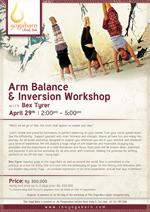 Arm Balance n Inversion Workshop with Bex Tyrer