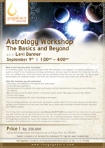Astrology Workshop The Basics and Beyond with Levi Banner