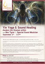 Yin Yoga Sound Healing