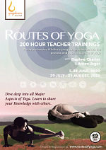 Routes of Yoga, 200-Hour Yoga Teacher Training with Daphne Charles and Anton Jager