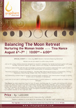 Balancing The Moon Retreat – Nurturing The Woman Inside with Tina Nance