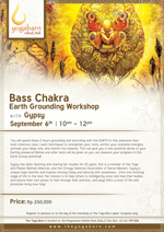 Bass Chakra Earth Grounding Worksho