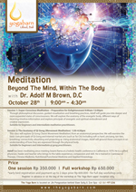 Meditation – Beyond The Mind, Within The Body