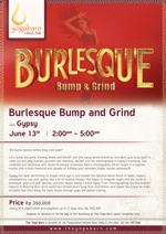 Burlesque Bump and Grind