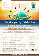 World Yoga Day Celebration Donate and make a difference!