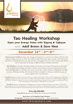 Tao Healing Workshop with Adolf Brown and Dave West