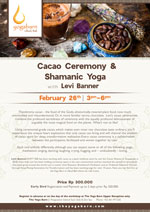 Cacao Ceremony & Shamanic Yoga with Levi Banner