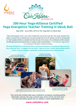 Foundation Yoga Teacher Training