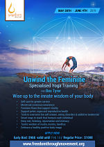 Unwind the Feminine: Specialised Yoga Training with Bex Tyrer