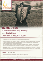 Death n Life – A Meditation and Yin Yoga Workshop                     