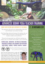 Denise Payne One Song 300 Hour Advanced Yoga Teacher Training