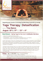 Yoga Therapy/ Detoxification