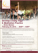Develop a Daily Yoga
