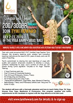 200/300-Hour Vinyasa and Yin Teacher Training with Tymi Howard