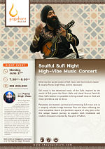 Soulful Sufi Night: High-Vibe Music Concert with Punnu Singh Wasu