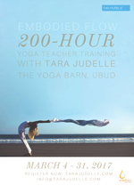Embodied Flow 200 hour Yoga Teacher Training