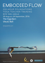 Embodied Flow 200 Hour Foundation Yoga Teacher Training