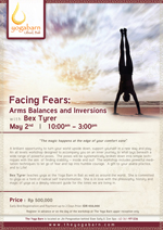 Facing Fears: Arm Balances and Inversions