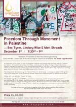 Freedom Through Movement in Palestine